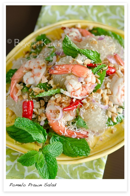 Thai Pomelo Prawn Salad