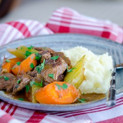 Old Time Beef Stew, the ultimate winter comfort