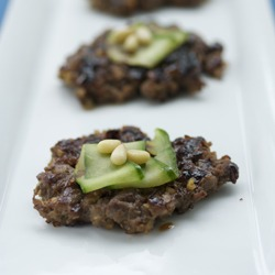 Korean Beef & Nut Patties, the Dduk-Galbi will drive you nuts!