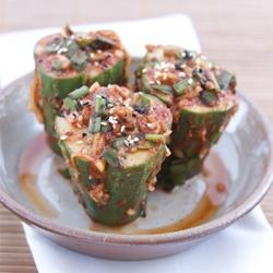 Cucumber Kimchi, easy peasy summer kimchee