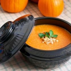 Korean Pumpkin Porridge (hobak-jook)