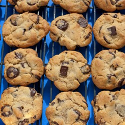 NY Times chocolate chip cookies