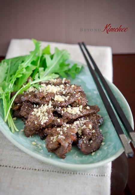 Nuhbiani, the easy royal Korean beef