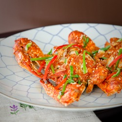 Korean Chili Crab (kkotgge Jjim)