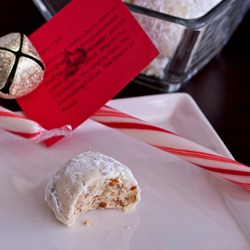 Pecan Balls, wishing for a white Christmas