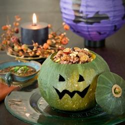Halloween pumpkin-rice