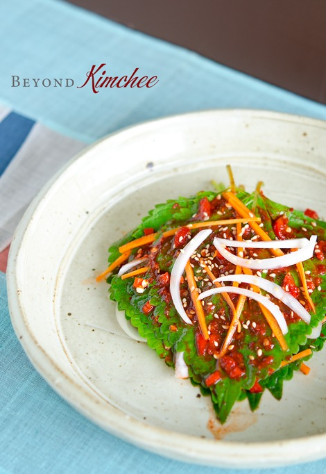Perilla Leaf Kimchi, the summer Kkatnip Kimchi