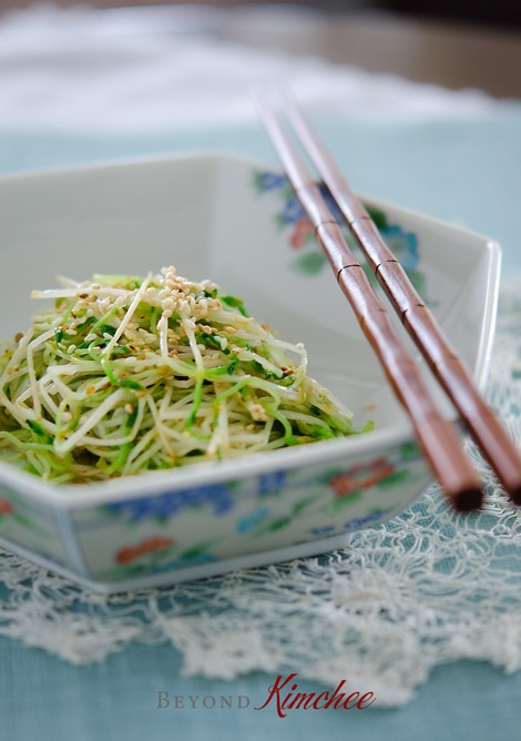 Quick Sauteed Pea Sprouts