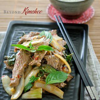 Beef Thai Basil Stir-Fry