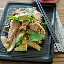 Thai Beef and Basil Stir-Fry