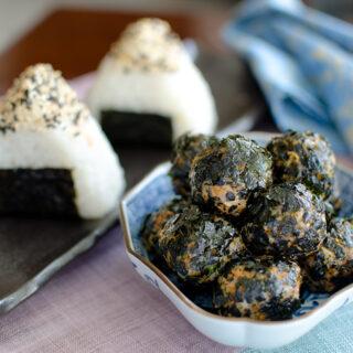 Kimchi Tuna Rice Balls and Patties