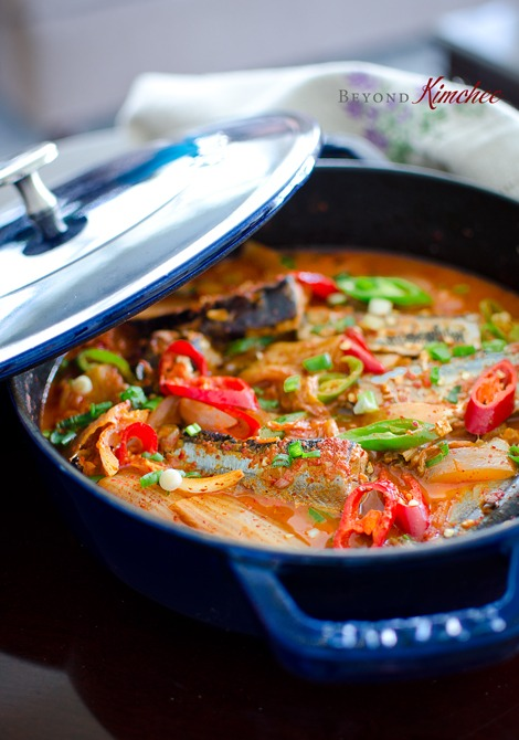 Mackerel Pike Kimchi Jjigae