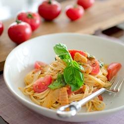 Kimchi Tomato Spaghetti