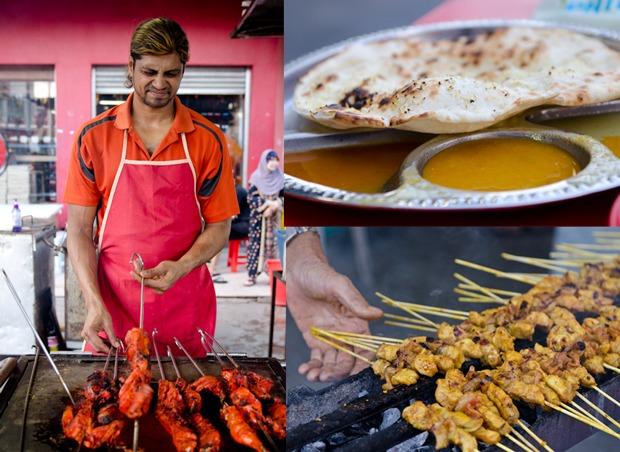 Chicken Tandoori & Sate