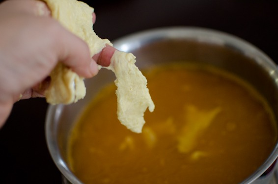 corn dumpling soup-17