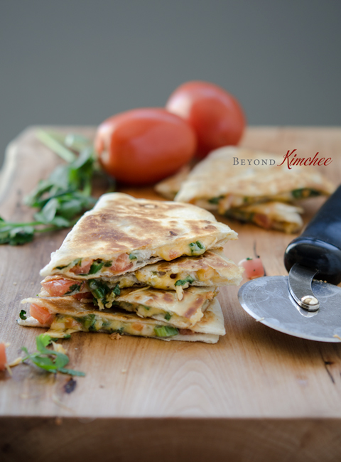 Tomato-Cheese-Quesadilla