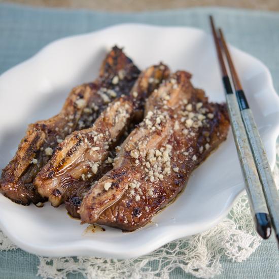 LA Galbi, the Korean BBQ Ribs
