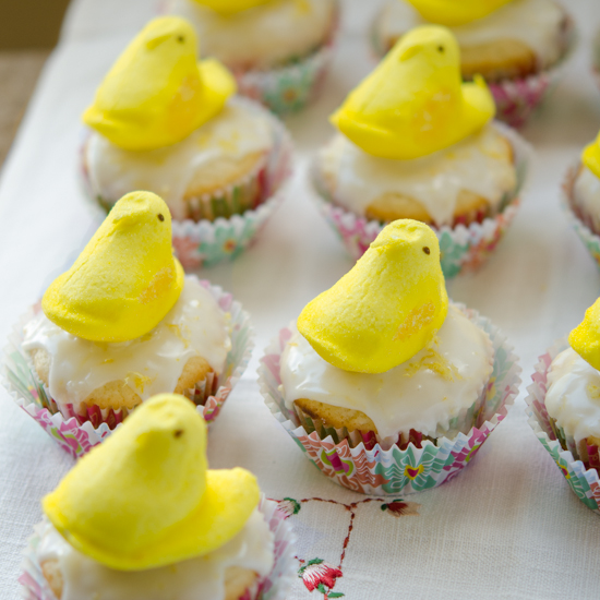 Lemon Yogurt Cupcakes with Lemon Yogurt Icing
