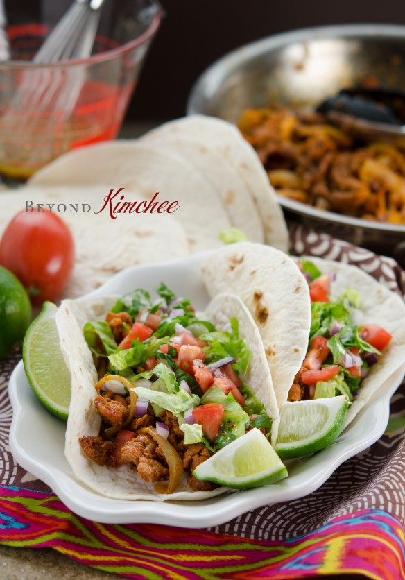 Spicy Korean Pork Taco