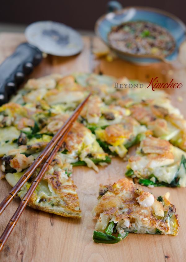 Green Onion Pancake Seafood Green Onion Pa...