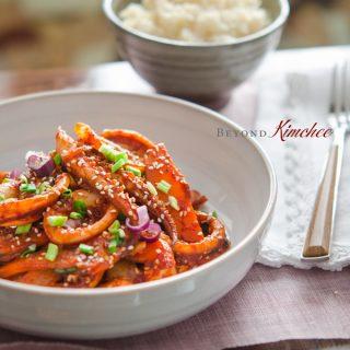 Stir-fried Spicy Squid