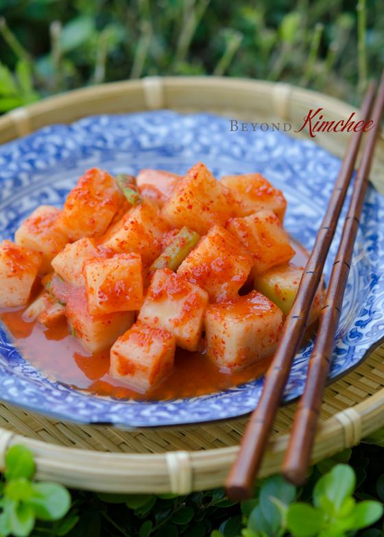 Kkakdugi, Radish Kimchi