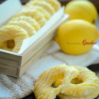 Lemon Jumbles, Lemon Ring Cookies