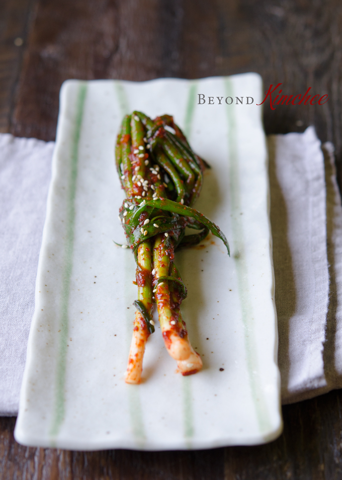 Green Onion Kimchi