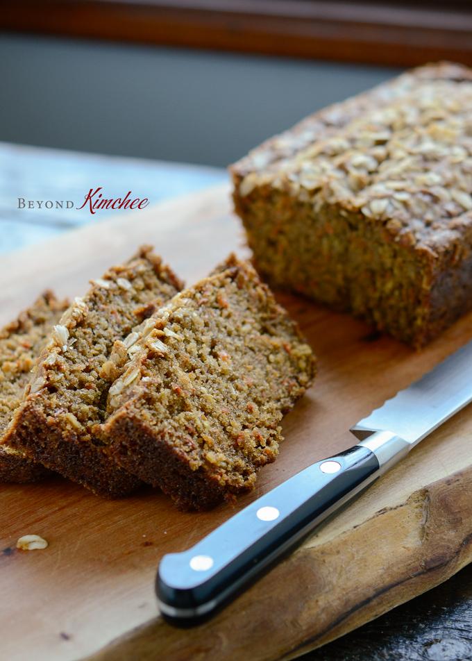 Carrot Oat Bread