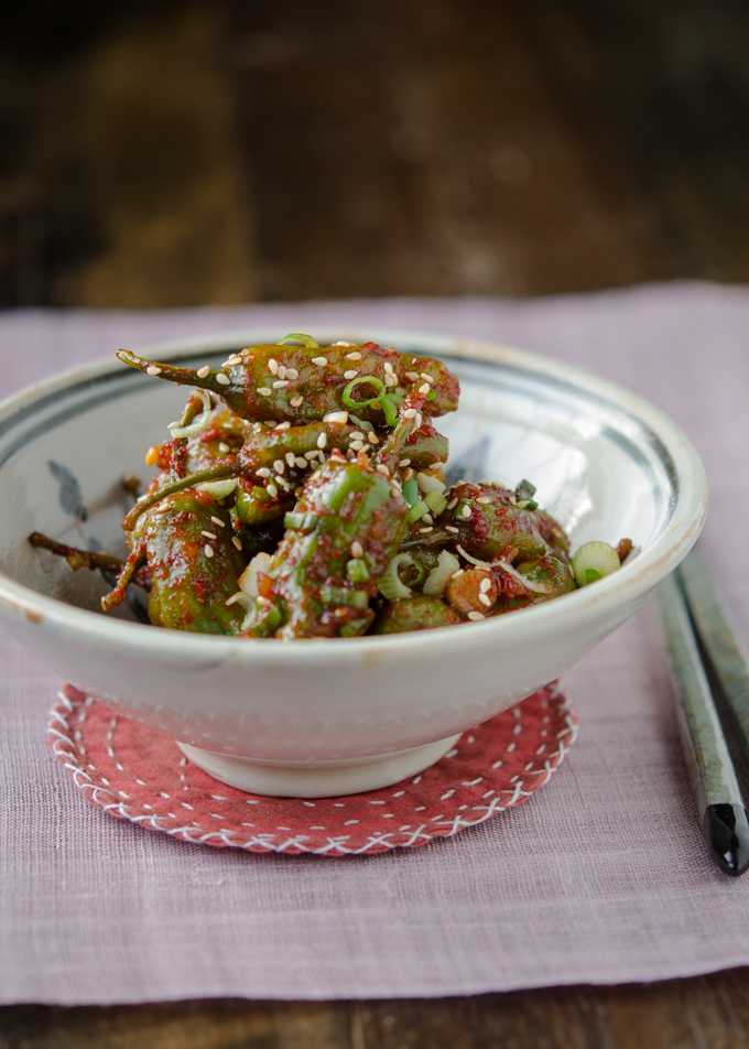 Steamed Chilies