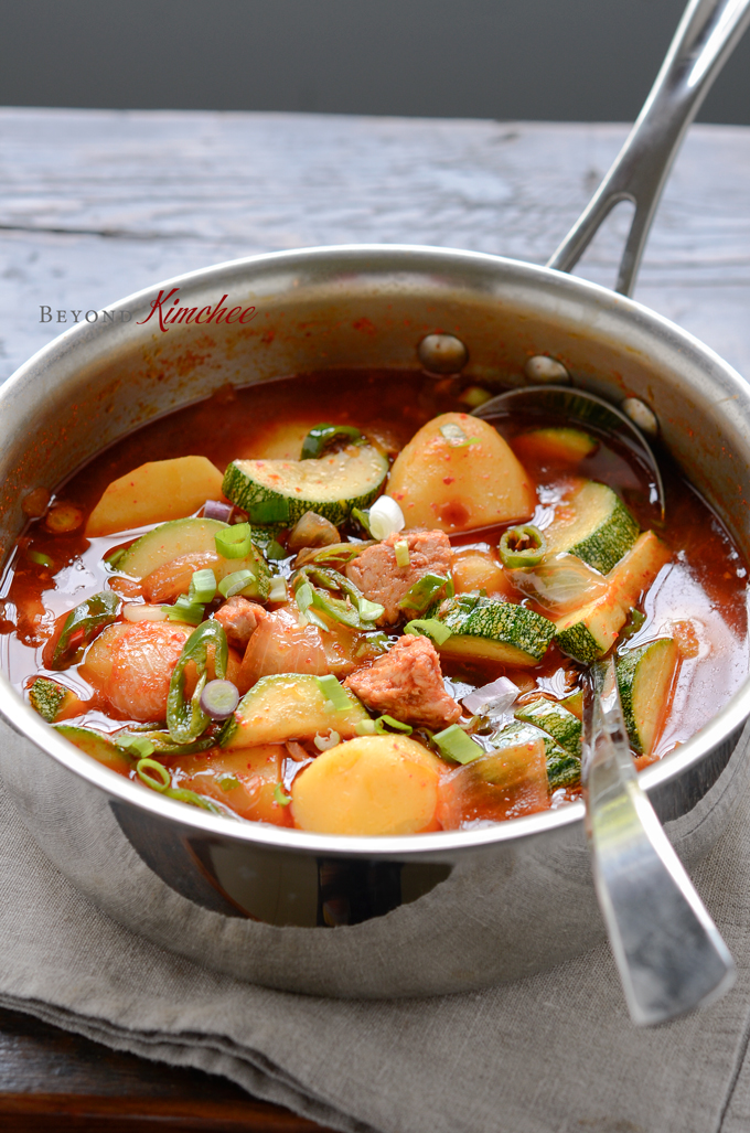 Spicy Tuna and Potato Stew
