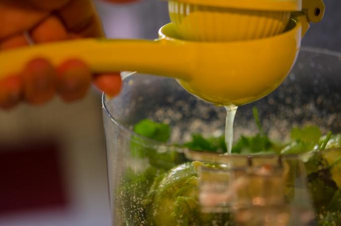 Avocado Cilantro Pesto Sauce