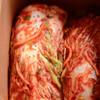 Cabbage Kimchi, another way to make