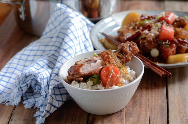 Korean Braised Chicken, Jjimdak