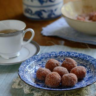 Gluten-free Pumpkin Rice Donuts