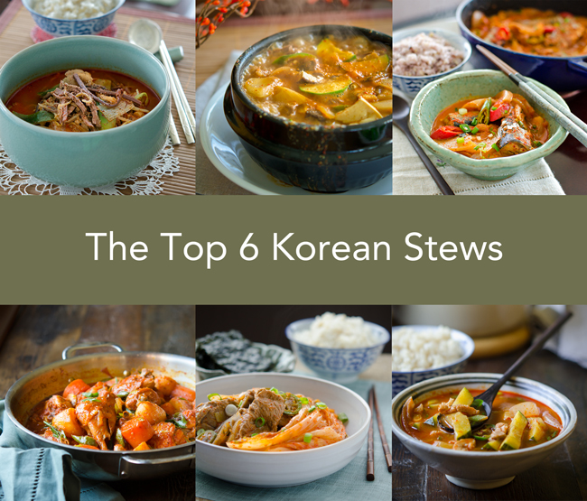 The Top 6 Korean Stews