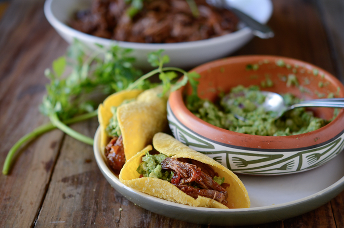 Mexican Shredded Beef Tacos