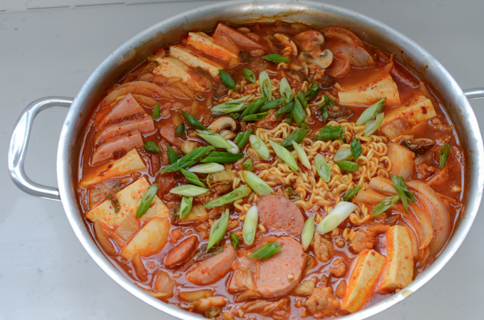 Korean Army Stew, Budae Jjigae