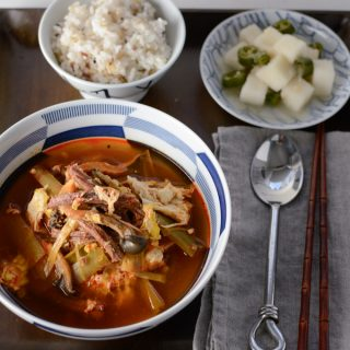 Instant Pot Korean Beef Stew, Yukgaejang