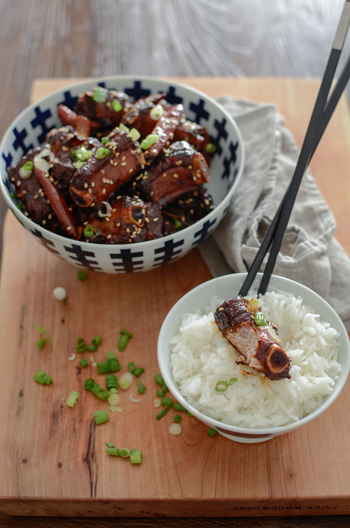Chinese Sweet and Sour Pork Ribs