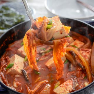 Anchovy Kimchi Stew (Myulchi Kimchi Jjigae)
