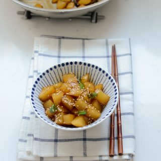 Korean Potato Side Dish (Gamja Jorim)