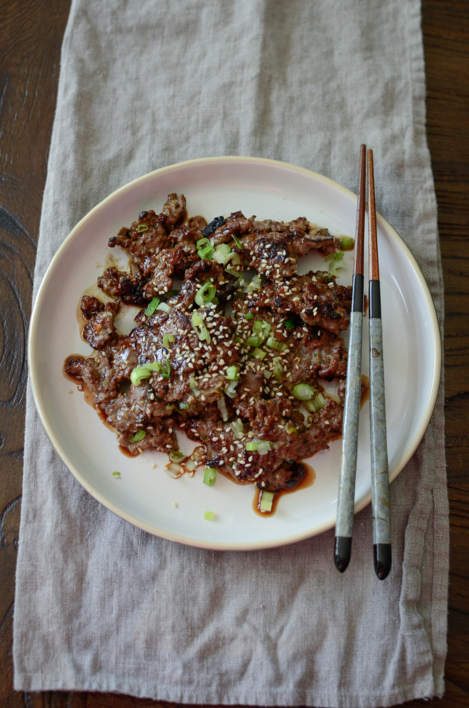 Crispy Korean Beef