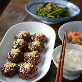 Easy Tteok-galbi (Korean short rib patties)