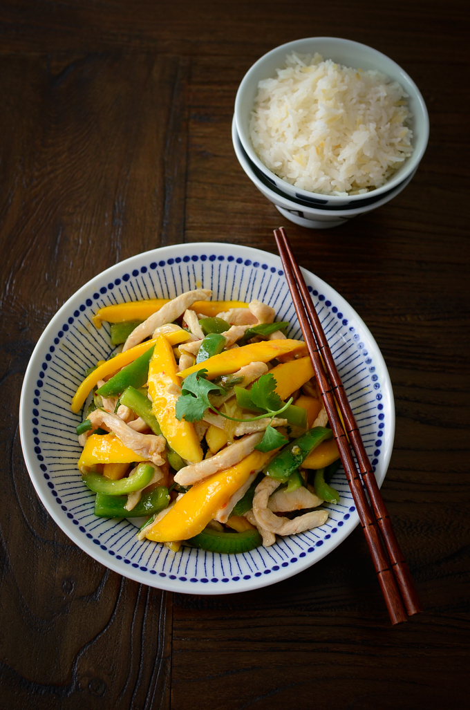Chicken Mango Stir-fry