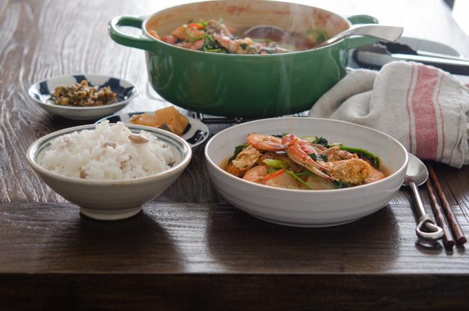 Korean Crab Stew