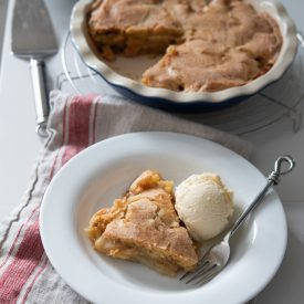 Easy No-Crust Apple Pie