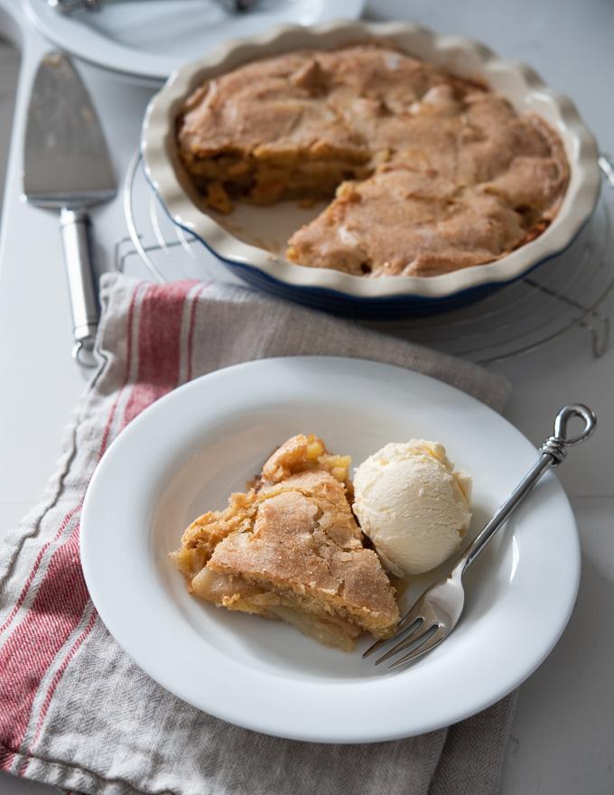 Easy No Crust Apple Pie Beyond Kimchee