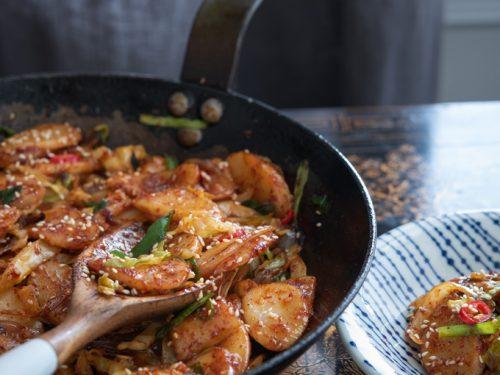 Spicy Korean Rice Cake Stir Fry Beyond Kimchee