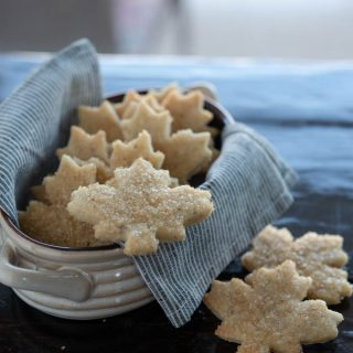 Maple Walnut Cutout Cookies